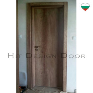 РАТИ Хит Дизайн, Hit Design Door - врати с размери по поръчка. Фърнирован МДФ, естествен фурнир. Дъб, байц, лак.